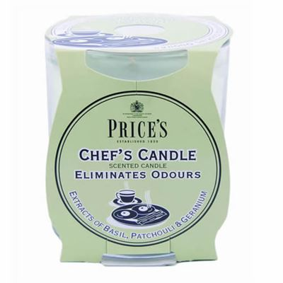 Chef's Candle in Glass Jar by Price's
